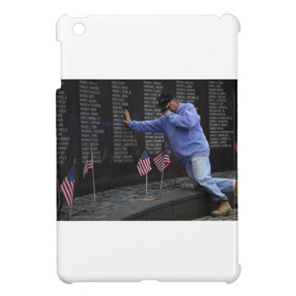 Visiting The Vietnam Memorial Wall, Washington DC. iPad Mini Cover