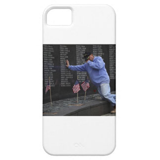 Visiting The Vietnam Memorial Wall, Washington DC. iPhone 5 Covers