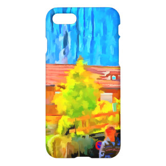 Visitors in a lovely setting in Switzerland.jpg iPhone 7 Case