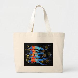 Vislepthonus V1 - abstract scorpion Large Tote Bag