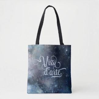 Vissi d'arte blue celestial all-over-print bag