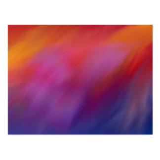 Vission abstract postcard