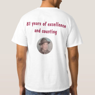 Vista Bill 81 years of excellence T Shirt