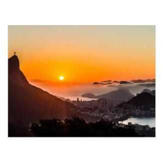Vista Chinesa, Rio De Janeiro, Brasil Postcard