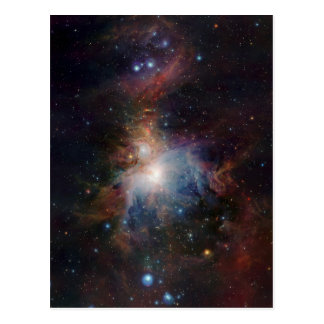 VISTA's infrared view of the Orion Nebula Postcard