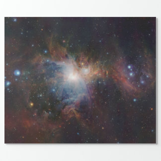 VISTA's infrared view of the Orion Nebula Wrapping Paper