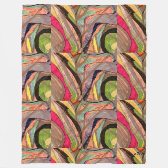 Visual Art 486 Fleece Blanket