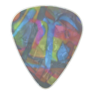 Visual Art Pearl Celluloid Guitar Pick