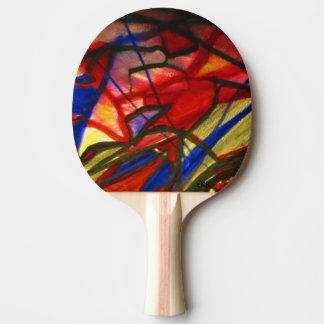 Visual Art Ping Pong Paddle