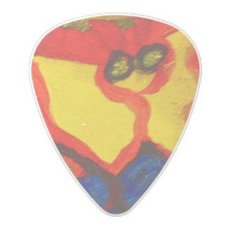 Visual Arts 859 (Blue) Polycarbonate Guitar Pick
