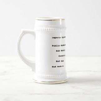 Visual Basic Hello World Greeting Mugs