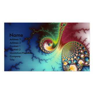 Visual Cortex Pack Of Standard Business Cards