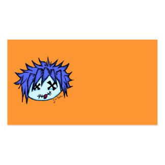 Visual Kei Zombie Business Card Template