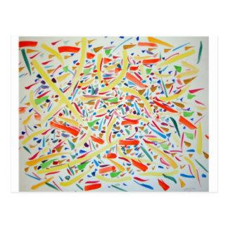 Visual Paths II by Jonathan FeBland Postcard