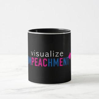 visualize imPEAChmEnt/PEACE mug