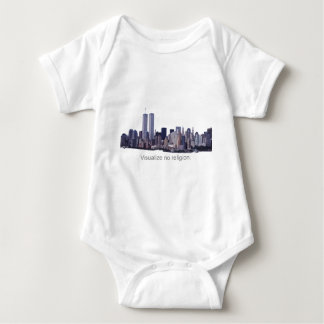 Visualize no Religion Baby Bodysuit