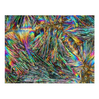 Vitamin B under the microscope Postcard