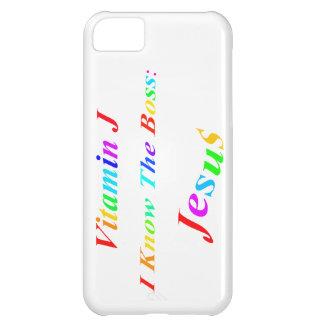 Vitamin J iPhone 5C Cover