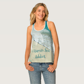 Vitamin Sea Addict Tropical Beach Tank Top