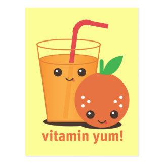 Vitamin Yum Postcard