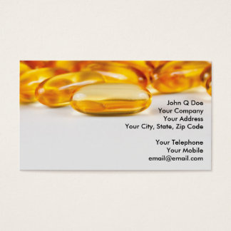 Vitamins and Health products Business Card