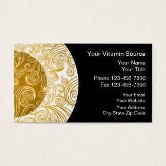 Vitamins Business Card