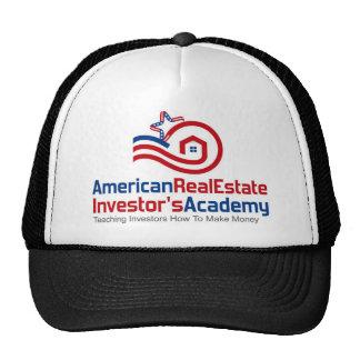 Vitesse américaine de logo d'académie d'investisse casquette trucker