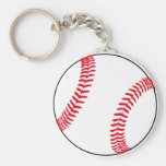 Vitesse de base-ball porte-clé rond