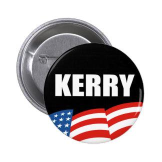 Vitesse d'élection de JOHN KERRY Macaron Rond 5 Cm