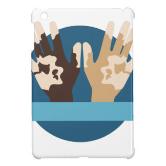 Vitiligo Awareness iPad Mini Cases