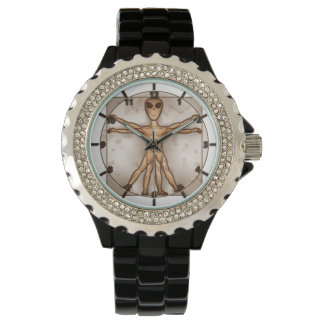 Vitruvian Alien Watch