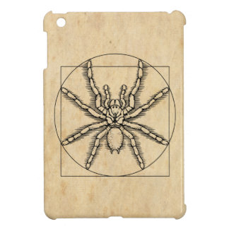 Vitruvian Arachnid Cover For The iPad Mini