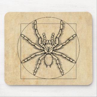 Vitruvian Arachnid Mouse Pad