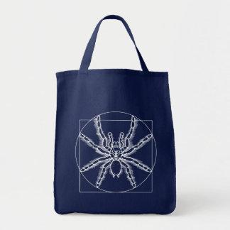Vitruvian Arachnid Tote Bag