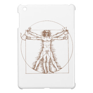 Vitruvian Barista iPad Mini Cover