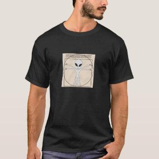 Vitruvian Man Alien T-Shirt