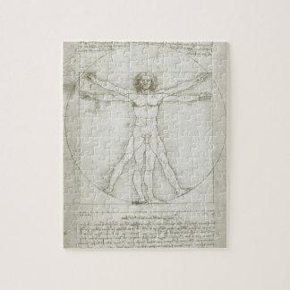 Vitruvian Man by Leonardo da Vinci Jigsaw Puzzle