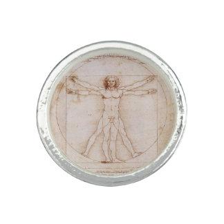Vitruvian Man by Leonardo da Vinci Ring