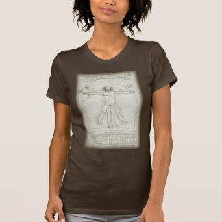 Vitruvian Man by Leonardo da Vinci Shirt