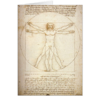 Vitruvian Man Card