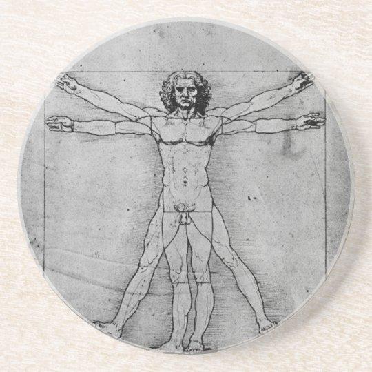 Vitruvian Man Coaster