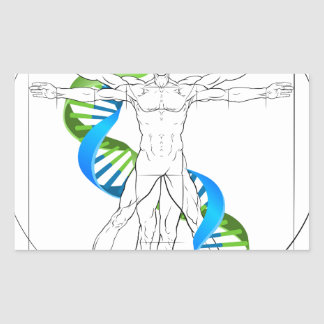 Vitruvian Man DNA