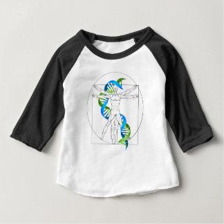 Vitruvian Man DNA Baby T-Shirt
