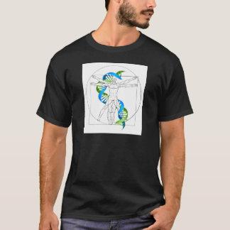 Vitruvian Man DNA T-Shirt
