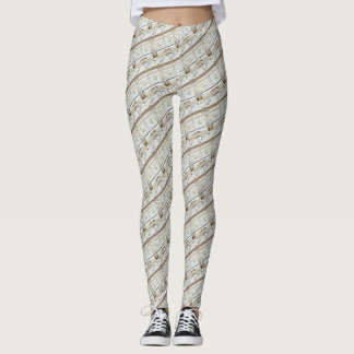 Vitruvian Man Measurements Leonardo da Vinci Leggings