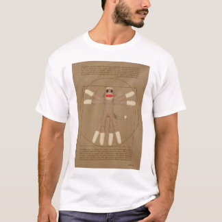 Vitruvian Monkey Men's T-Shirt