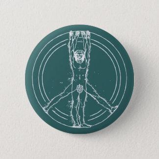 Vitruvians for Peace 2 Inch Round Button