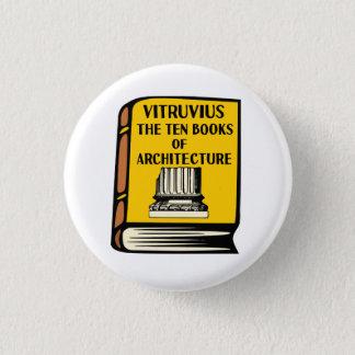 Vitruvius Ten Books of Architecture Book Button