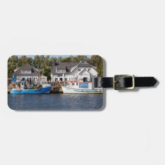 Vitte Harbour on Hiddensee in Mecklenburg Vorpomme Bag Tag