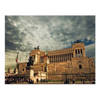 Vittorio Emanuele monument Postcard